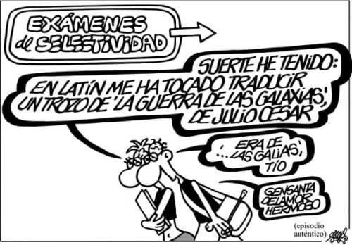 Forges selectividad
